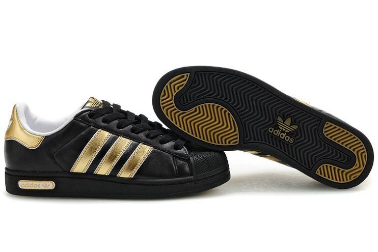 adidas homme noir et or